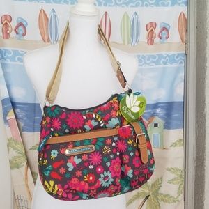 SALE! NWT Lily Bloom Playful Garden Hobo